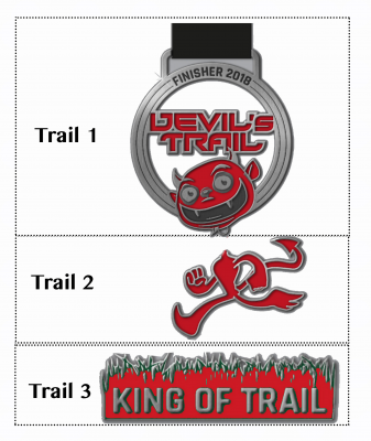 Devil's Trail Medaille